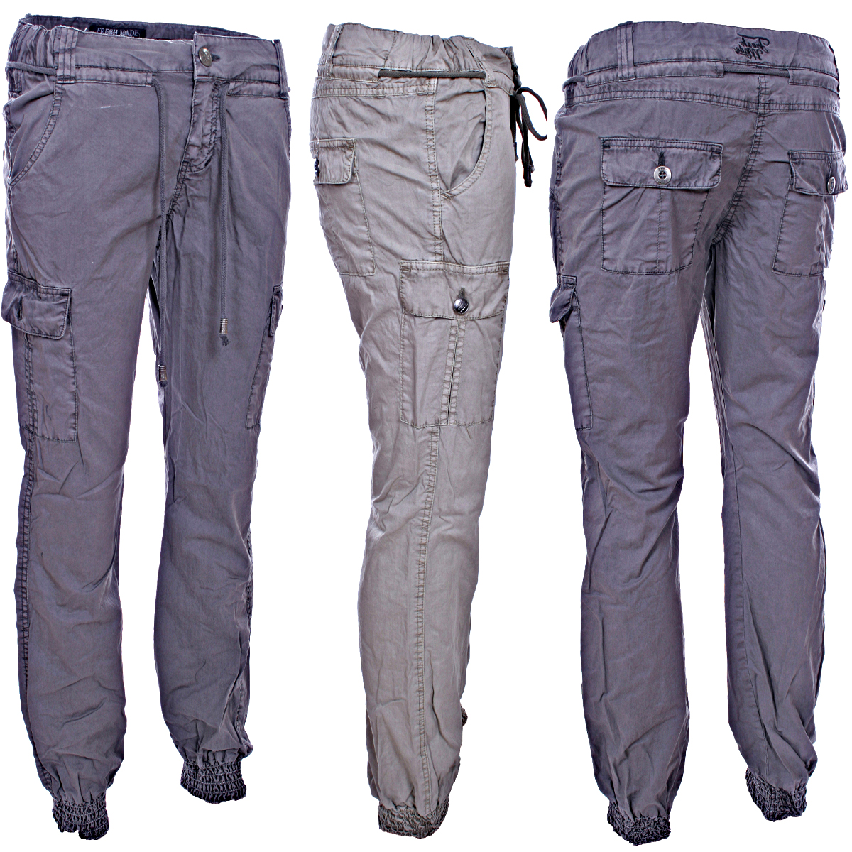 Creative Ralph Lauren Blue Label Slimfit Cargo Pants In Gray Grey  Lyst